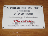 SuperCar Meeting 協賛品